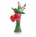 Franz Porcelain Collection Hummingbird Small Vase