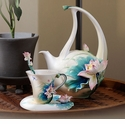 Franz Porcelain Collection Lotus Harmony