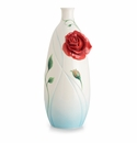 Franz Porcelain Collection Romance Of The Rose Large Vase
