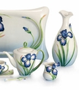 Franz Porcelain Eloquent Iris Collection