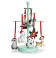 Franz Porcelain Holiday Greetings Ornaments & Figurines