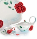 Franz Porcelain Romance of the Rose Collection