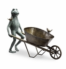 Frog and Bird Plant Holder by SPI Home