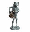 Frog With Watering Can Garden by SPI Home