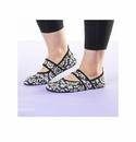 Futsole Rugged Black Flowers - XL