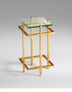 Gallery Square Iron End Table by Cyan Design