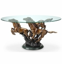 Galloping Horses Coffee Table by SPI Home