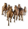 Galloping Horses Wall Plaque by SPI Home