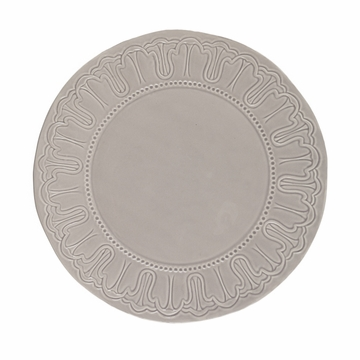 GG Collection 14'' Stone Medallion Ceramic Charger Plate