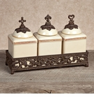 GG Collection Gracious Goods Cream Faith, Hope, Love Jar Set