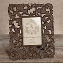 GG Collection Gracious Goods Large Metal Picture Frame, 5 inch x 7 inch