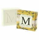 Gianna Rose Atelier M Monogram Soap Bar