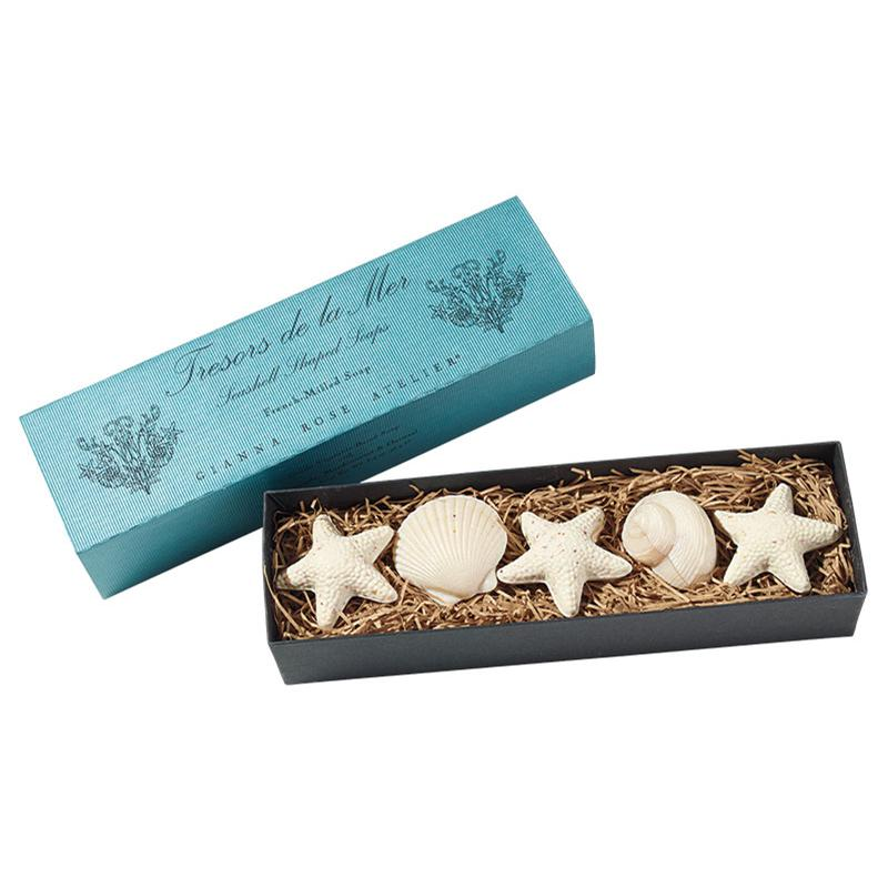 Gianna Rose Atelier Sea Shell Soaps Boxed 5 18 7 You