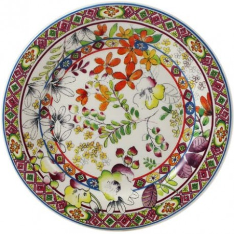 Gien bagatelle canape plate for What is a canape plate used for