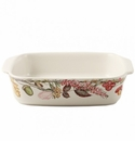 Gien Bouquet Floral Square Baker Medium