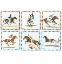 Gien Cavaliers Acrylic Coasters Set of 6