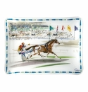 Gien Cavaliers Acrylic Serving Tray Small