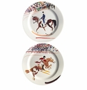 Gien Cavaliers Assorted Bottle Coasters Set of 2
