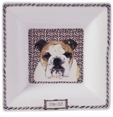 Gien Darling Dog Large Square Candy Tray