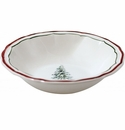Gien Filet Noel Cereal Bowl
