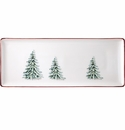 Gien Filet Noel Oblong Serving Tray