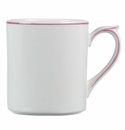 Gien Filet Raspberry Mug