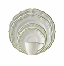Gien Filet Vert 5 Piece Dinnerware Placesetting