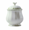 Gien Filet Vert Sugar Bowl