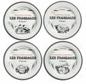 Gien Gastronomie Assorted Small Cheese Plates Set of 4