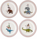 Gien Lucien Assorted Canape Plates