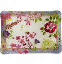 Gien Millefleurs Acrylic Serving Tray Small