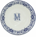 Gien Monogram Dauphin Cereal Bowl