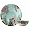 Gien Ocean 4 Piece Dinnerware Placesetting