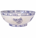 Gien Oiseau Blue & White Open Vegetable Dish