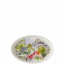 Gien Paris A Giverny Oval Tray