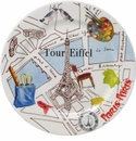 Gien Paris-Paris Bottle Coasters