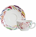 Gien Passion Tea Cup & Saucer