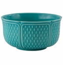 Gien Pont Aux Choux Turquoise Extra Large Cereal Bowl