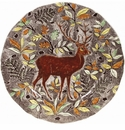 Gien Rambouillet Round Flat Dish Stag