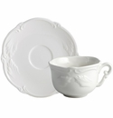 Gien Rocaille White Breakfast Cup