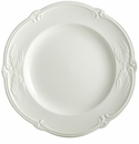 Gien Rocaille White Canape Plate