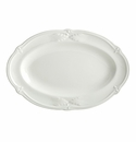 Gien Rocaille White Pickle Dish