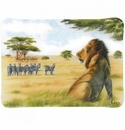 Gien Safari Acrylic Serving Tray Small
