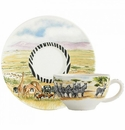 Gien Safari Tea Cup & Saucer