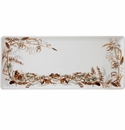Gien Sologne Oblong Serving Tray Foliage