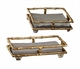 Gold Bamboo Guest Towel Holder Home Decor