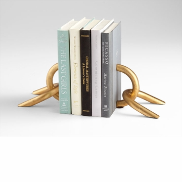 Gold Chain link Bookends by Cyan Design