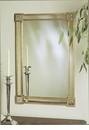 Gold Leaf Mirror Star Corners Home Decor