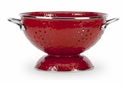 Golden Rabbit Red Colander