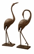 Graceful Garden Crane Pair Sculpture by SPI Home